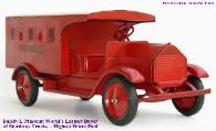 Buddy L Museum America's Largest Buyer of Sturditoy Trucks Including Sturditoy Dump Trucks, Sturditoy Armored Trucks, Sturditoy U S Mail Trucks, Sturditoy Coal Trucks, Sturditoy Ambulance, Sturditoy Dairy Truck and more
